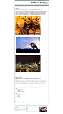 fotoblog template blog foto