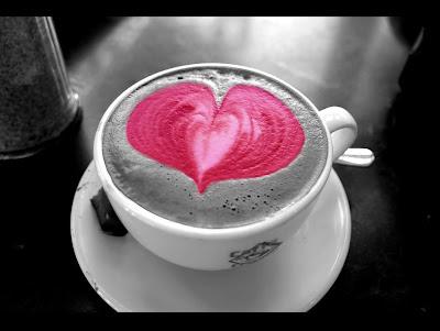 ceasca cafea inimioara
