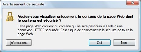 capture d'cran Internet Explorer