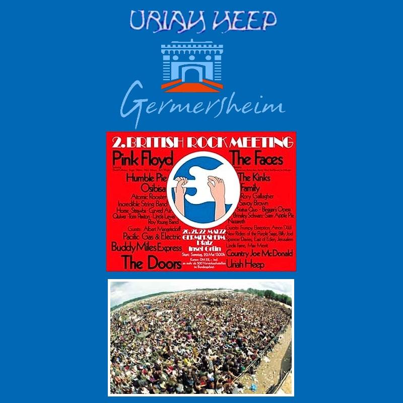 Uriah heep Live at 2 British Rock Meeting Germersheim 1972 Bootleg