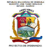 ORDENANZAS MUNICIPALES ACTUALMENTE EN CONSULTA