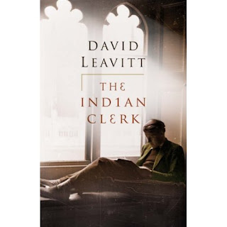 Cover of David Leabvitt's novel 'The Indian Clerk'