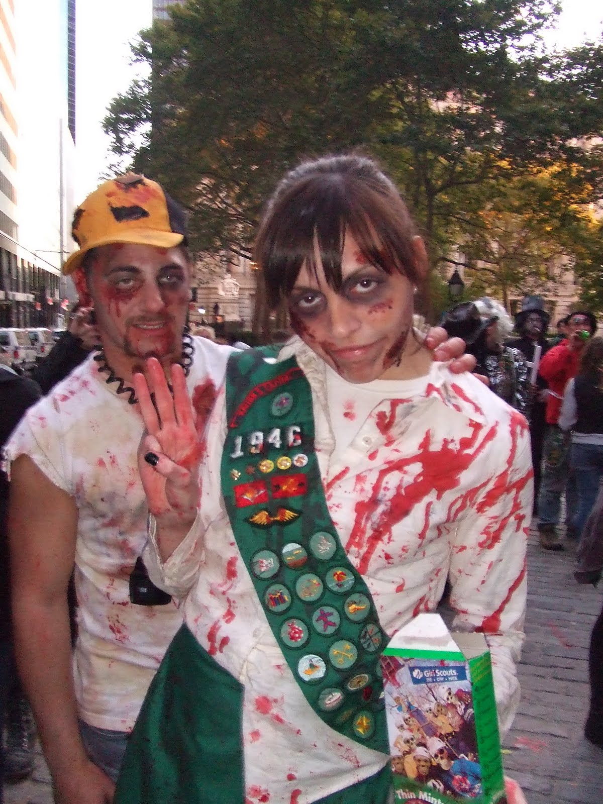 Kostumegirls closet how to zombify yourself making a zombie one thing to consider is when a living person is transformed into a zombie or infected they will stuck forever wearing the clothing they were wearing at solutioingenieria Images