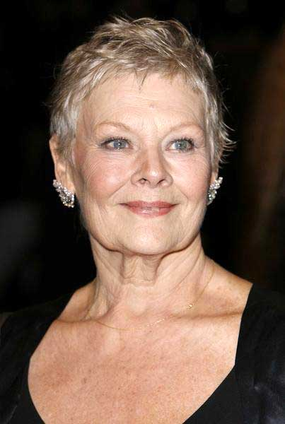 Short Haircuts Judi Dench | Short Hairstyles