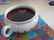 A heart in my tea