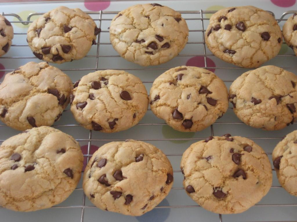 The Goddess's Kitchen ♥: Chocolate Chip Cookies