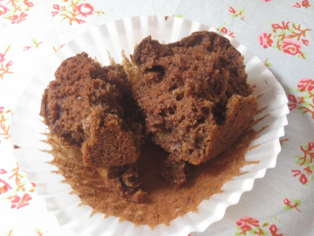 The Goddess's Kitchen ♥: Chocolate Banana Muffins