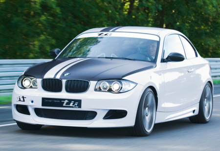 2007 BMW Concept 1-Series tii. Rumours surrounding the 1-Series tii Concept