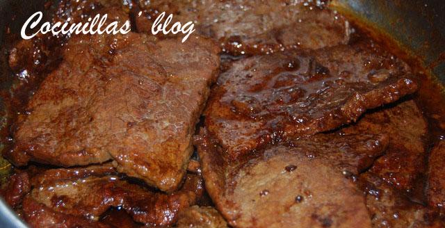 Cocinillas 39 blog filetes de ternera en salsa for Cocinar filetes de ternera