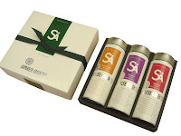 Our three pack assortment of traditional Japanese teas comes with Sencha, Genmaicha, and Hojicha