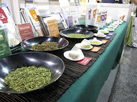 At the World Tea Expo in 2009 we showcased our famous Japanese green teas including sencha, genmaicha, and hojicha. Our genmaicha took 3rd place this year in the World Tea Championships for blended green tea.