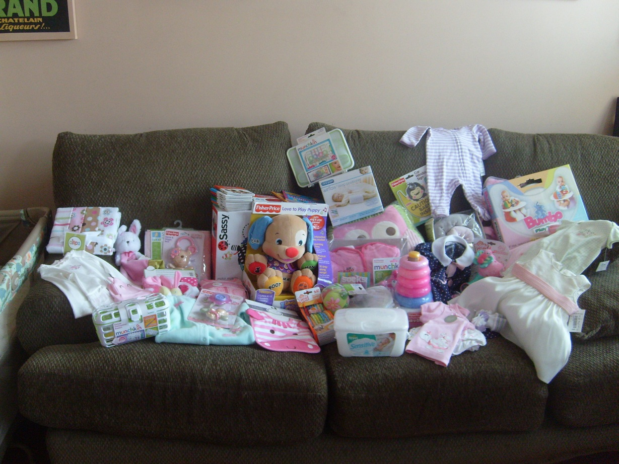 am the luckiest work baby shower 10 more days