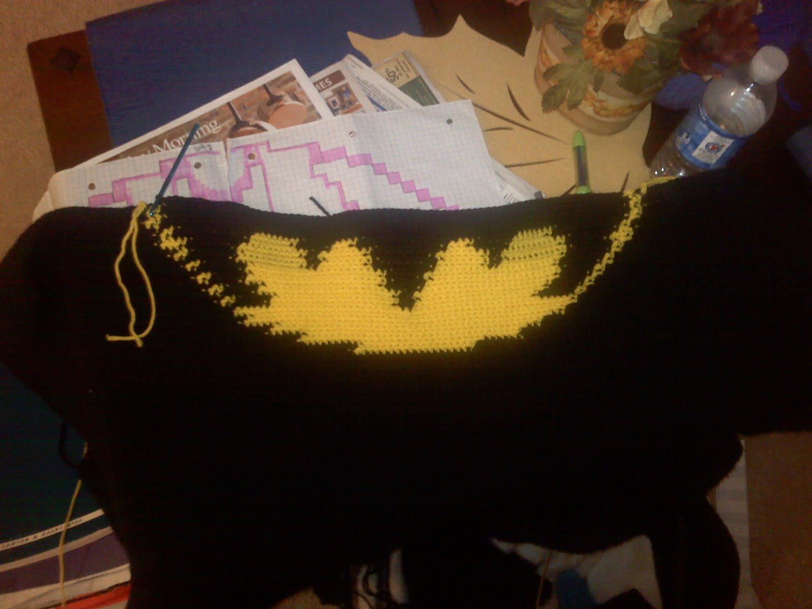 Crafty Adventures The Batman Blanket