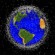 Lixo espacial: sinal do céu?