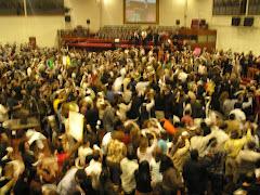 Concurrencia a Cruzada de Unción y Milagros