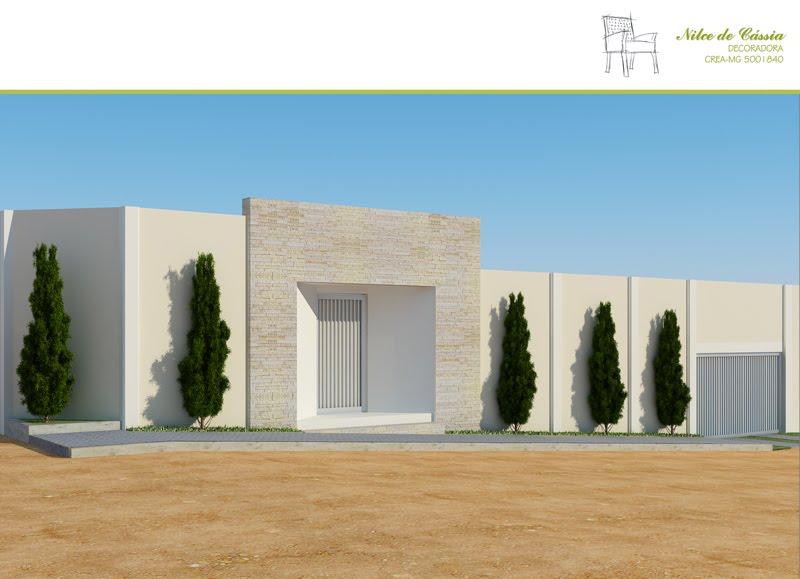 Fachadas Residenciais - Decoração de Interiores