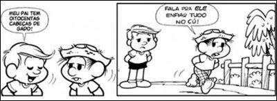 Revista didática baiana publica tira do Chico Bento com palavrão ... 98b9816a194