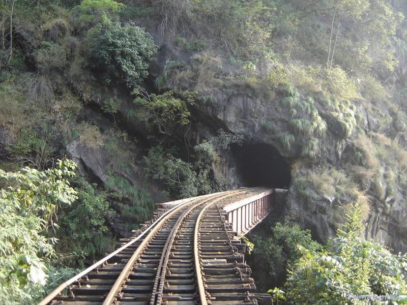 A tunnel in Ooty railway line