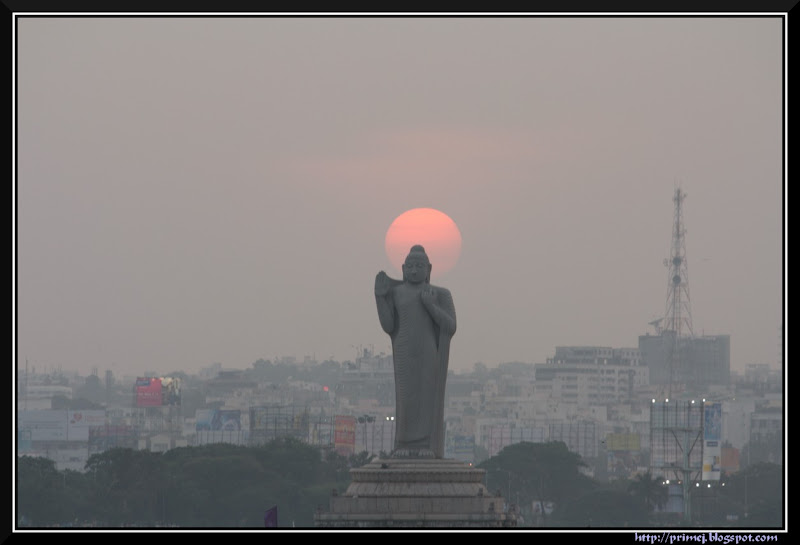 Statue of Buddha, Hussain Sagar, Hyderabad