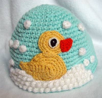 Funny Crochet Duck Hat