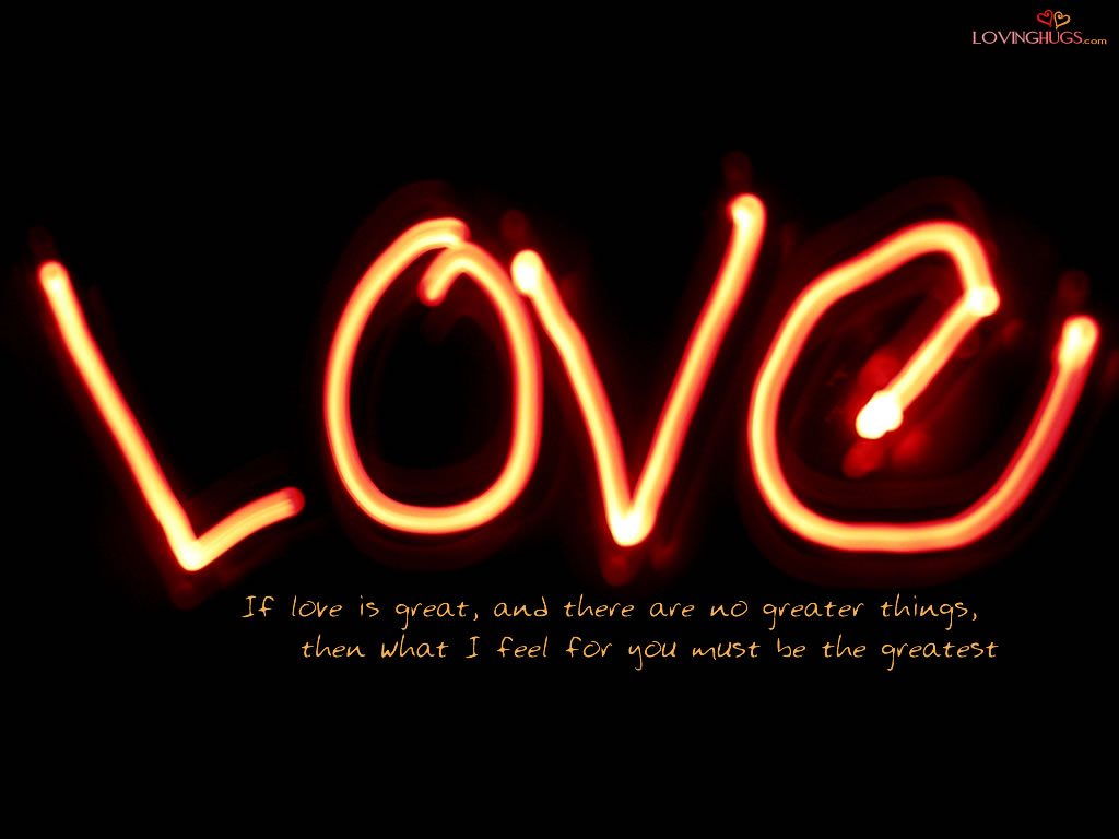 Black love wallpaper with a quote Hd Wallpaper