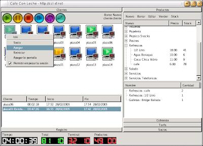 Linux в интернет кафе Ccl1
