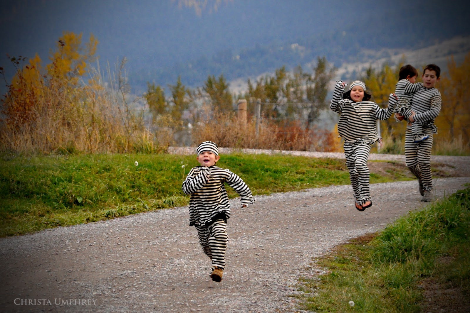 Child running away from home - Day 21 Halloween Runaways