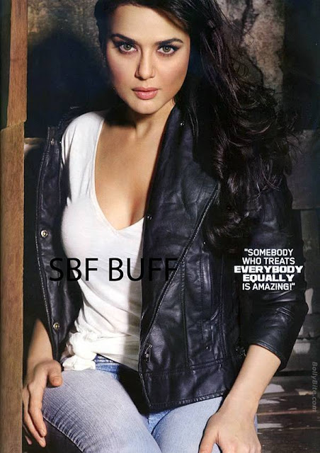 december 2010 she was on the cover of maxim magazine. Preity Zinta March 2010