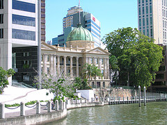 Brisbane River Walk and Customs House by Brewbooks