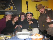 En casa de Quique y Meriel (11/11/09)