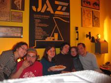 En casa de Meriel y Quique (25/02/09)
