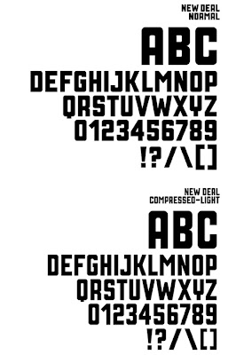 New Deal Typeface