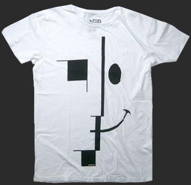 Acidhaus Bauhaus T-shirt, 1990's