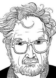 Alasdair Gray Self Portrait