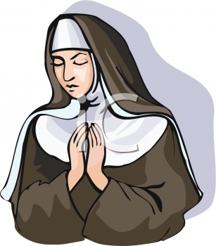 I dreamed to become a Nun. Could this be the