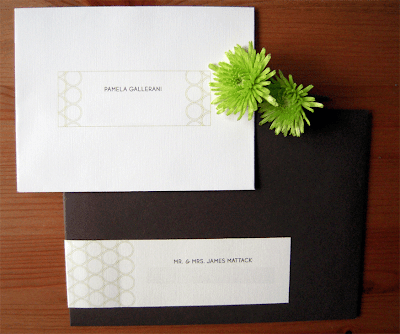 Pamela Ben Fall Wedding Invitations