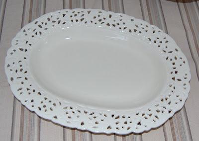 Oval Platter Tray