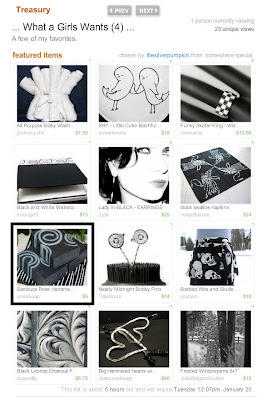 Etsy Treasury featuring Sambuca Rose