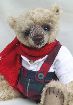 Mohair Teddy Bear by Jane Perala