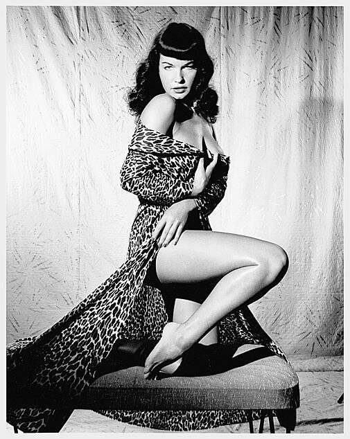 bettie page wallpaper. quot;I was not trying