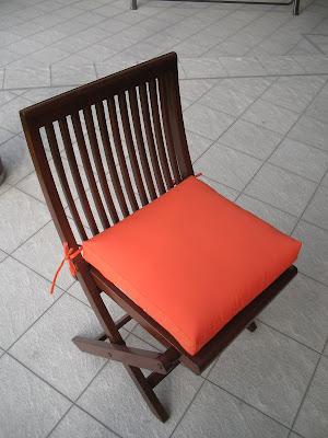 Fundas confecci n de cojines para sillas - Cojines redondos para sillas ...
