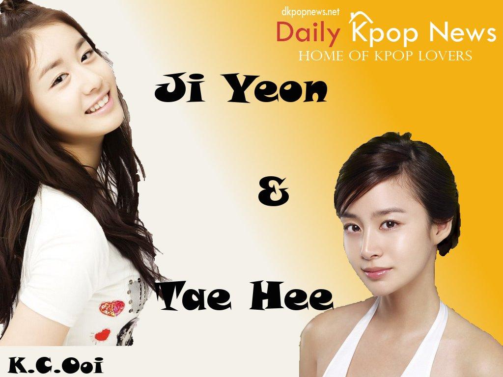 Kim Tae Hee Ji Yeon Ji Yeon & Tae H...
