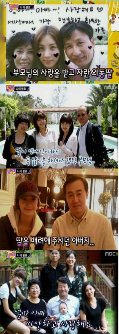 Yoona Family Members Snsd's Members Sunny,yoona