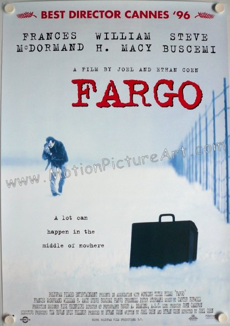 Fargo Movie Poster Far...