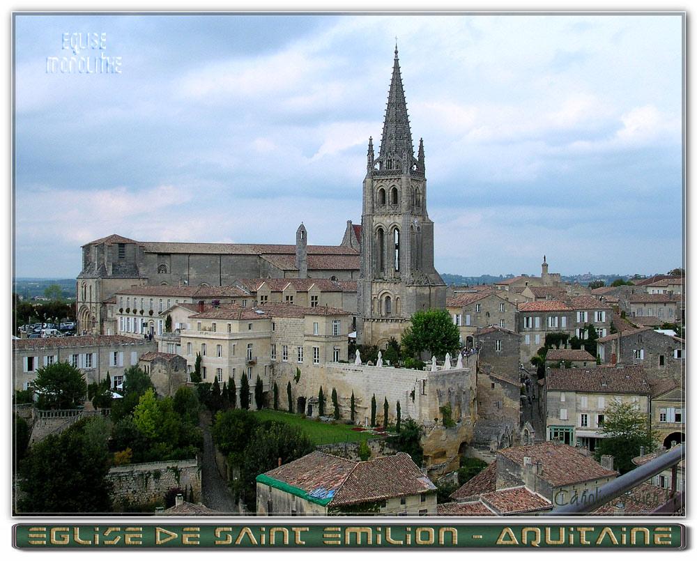 Eglise de Saint Emilion - Gironde