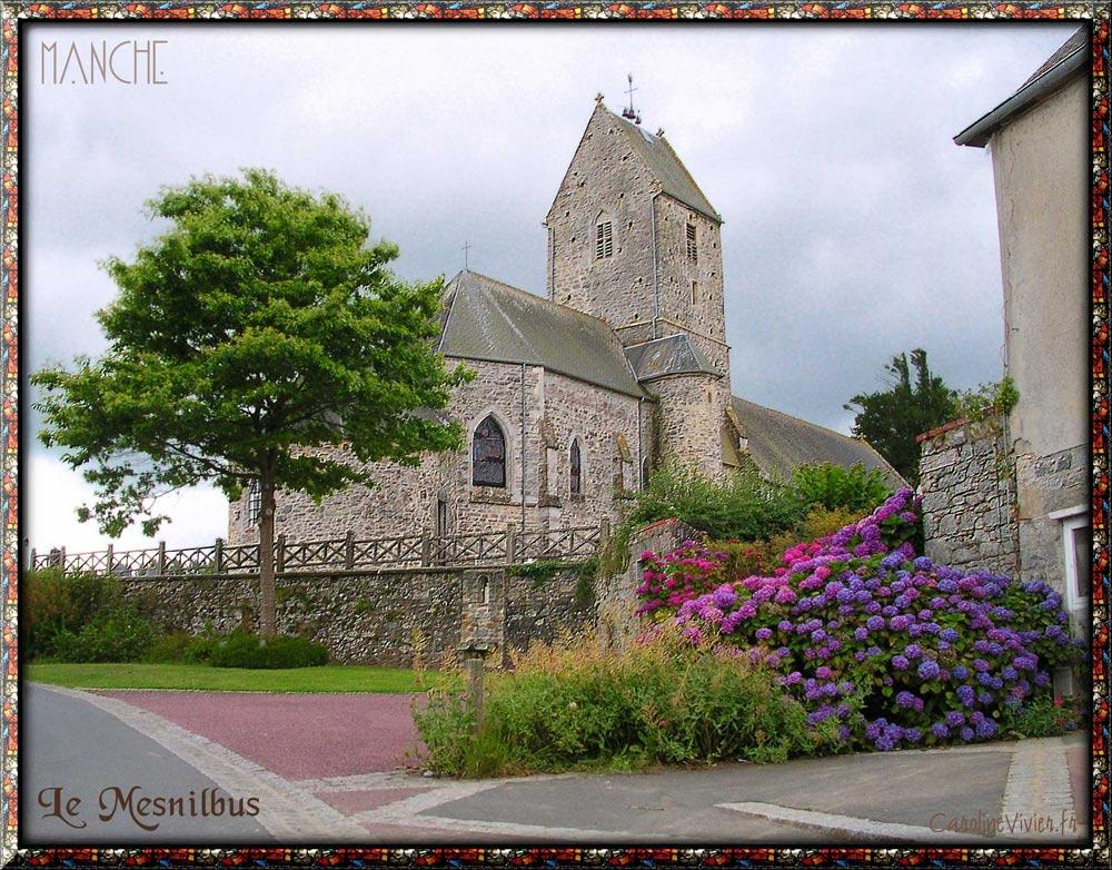 LE MESNILBUS - Eglise