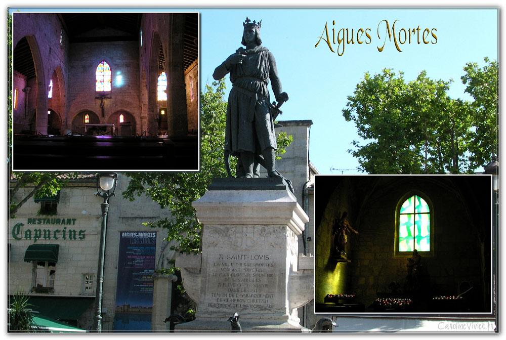 Aigues Mortes - Saint Louis et Notre Dame des Sablons