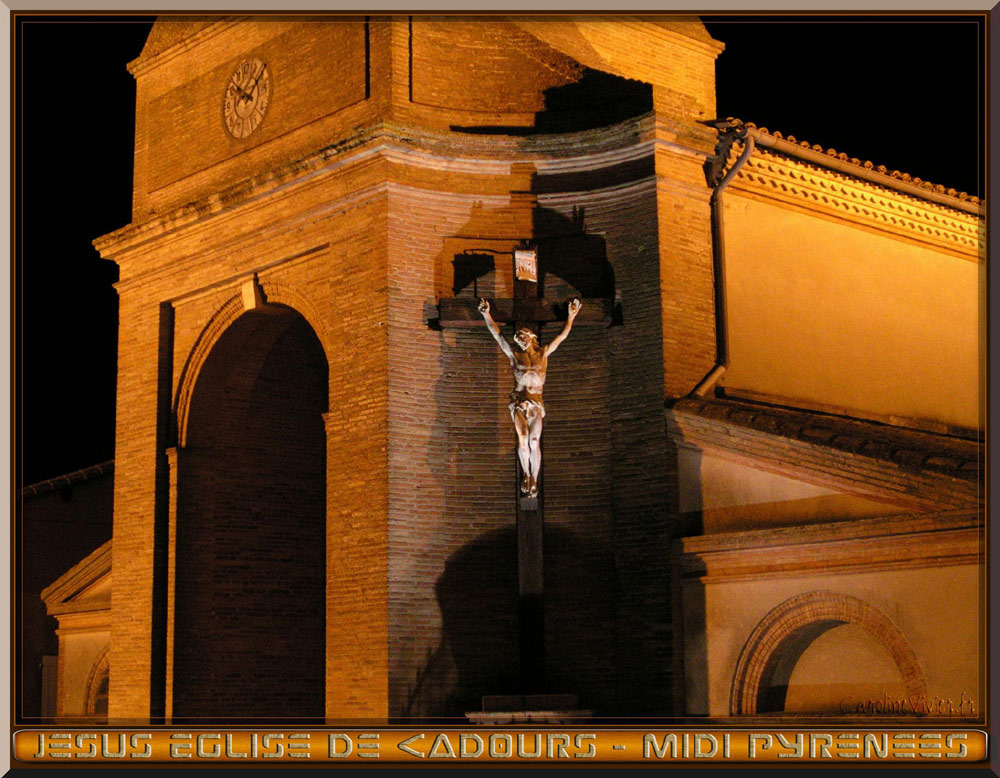 Jésus - Eglise de Cadours