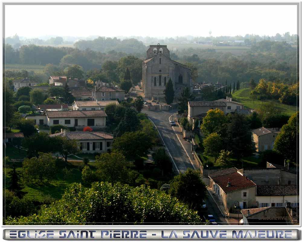 9 Eglise Saint Pierre de la Sauve Majeure