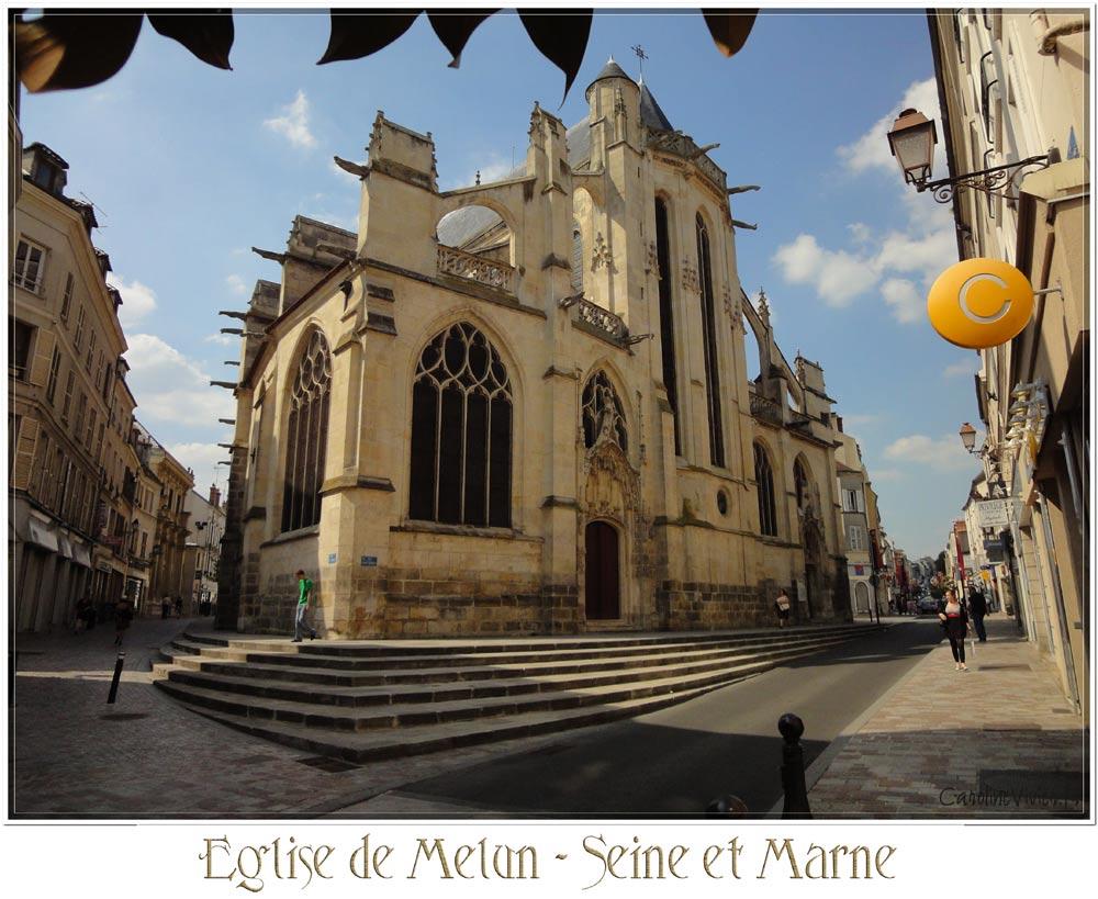 Eglise de Melun